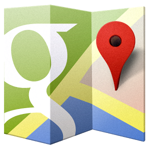 google maps red pin
